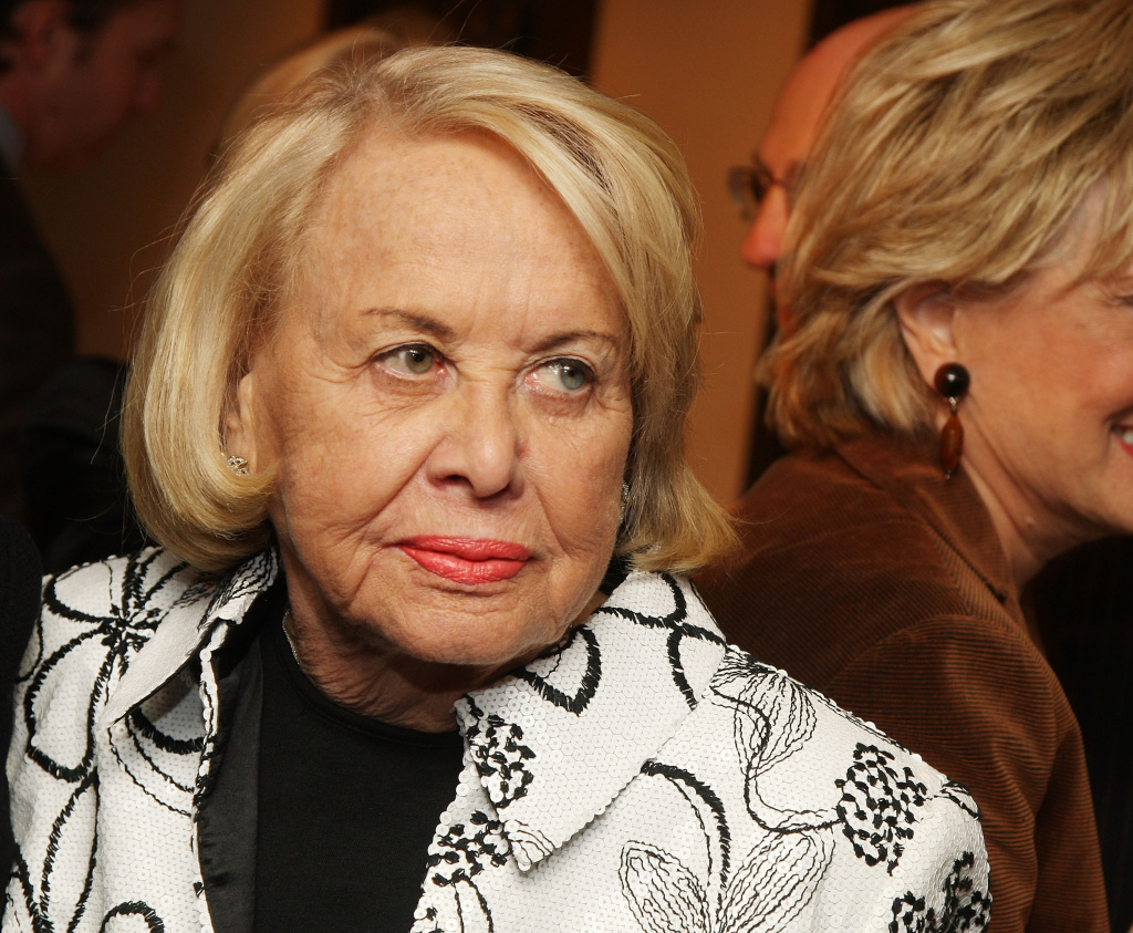 Former New York Post gossip columnist Liz Smith attends the 25th Annual Literacy Partners'
