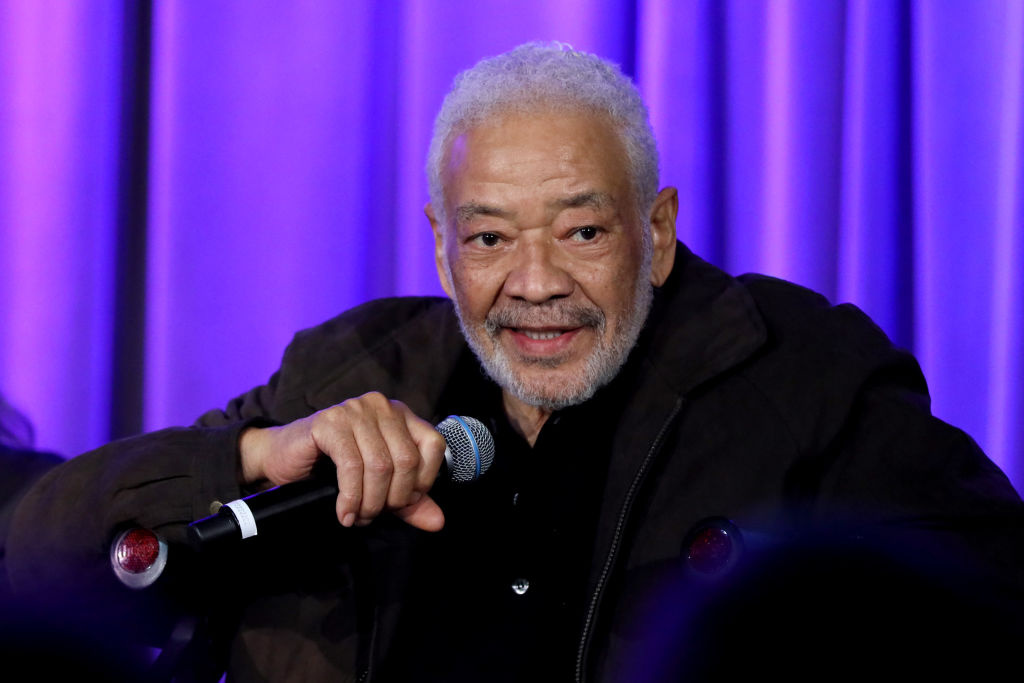 Bill Withers speaks onstage at Reel To Reel: Chuck Berry: Brown Eyed Handsome Man at the GRAMMY Museum on February 24, 2020 in Los Angeles, California.