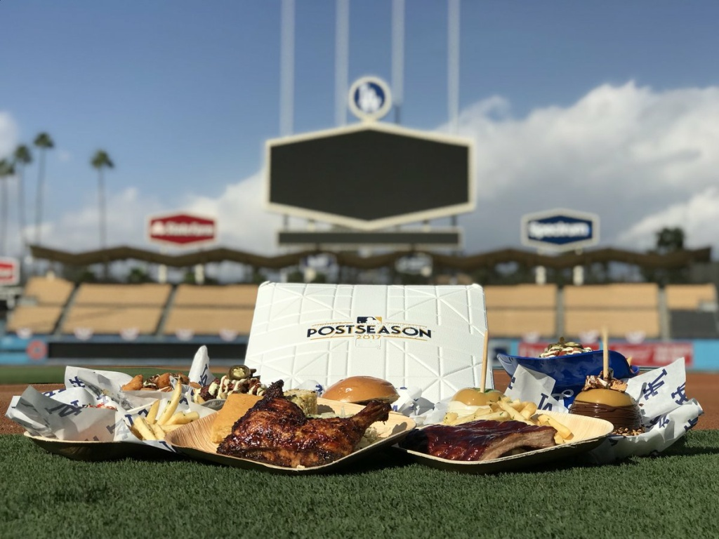 Dodger Stadium executive chef Ryan Evans has created special menu items that will be served during the World Series.