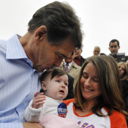 GOP Presidential Candidate Rick Perry Returns To Campaign Trail In South Carolina