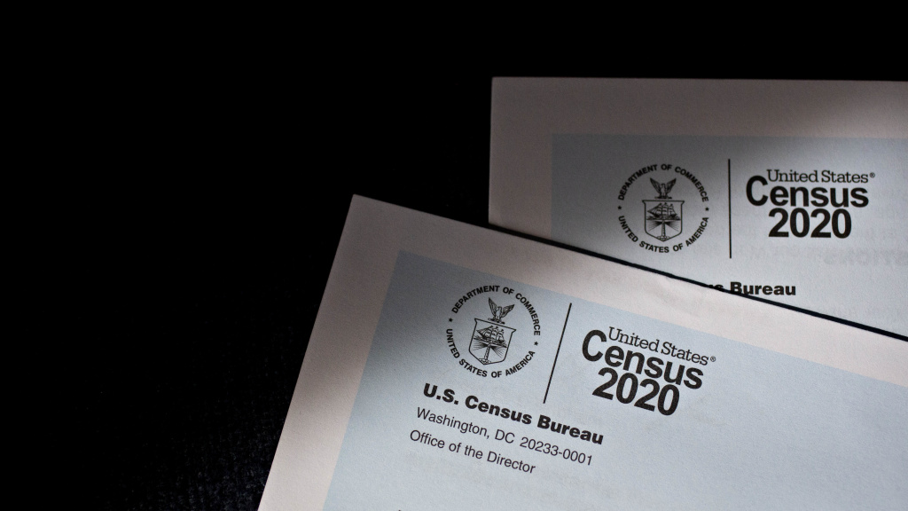 Starting July 23, the Census Bureau says door knockers will make in-person visits to households that have not yet filled out a 2020 census form in parts of Connecticut, Indiana, Kansas, Pennsylvania, Virginia and Washington.
