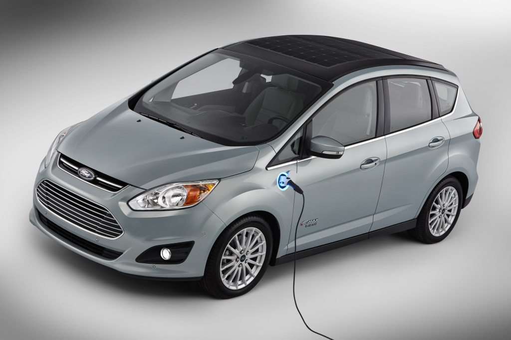 This undated image provided by Ford shows the C-MAX Solar Energi Concept car. California Assemblywoman Autumn Burke says she's introducing legislation to require that 15 percent of all new vehicles sold in the state be emission-free in less than a decade.