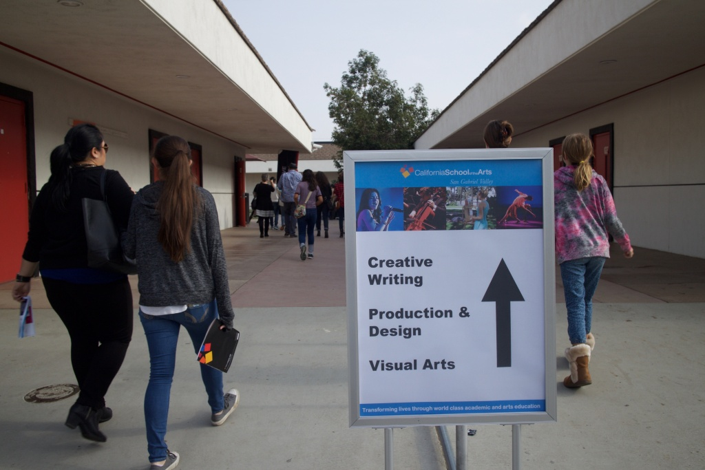 More than 1,000 people came to learn about the new school during a preview day in December.