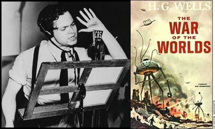 Orson Wells and War of the Worlds