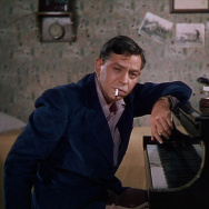 "Oscar Levant in ""An American In Paris."""