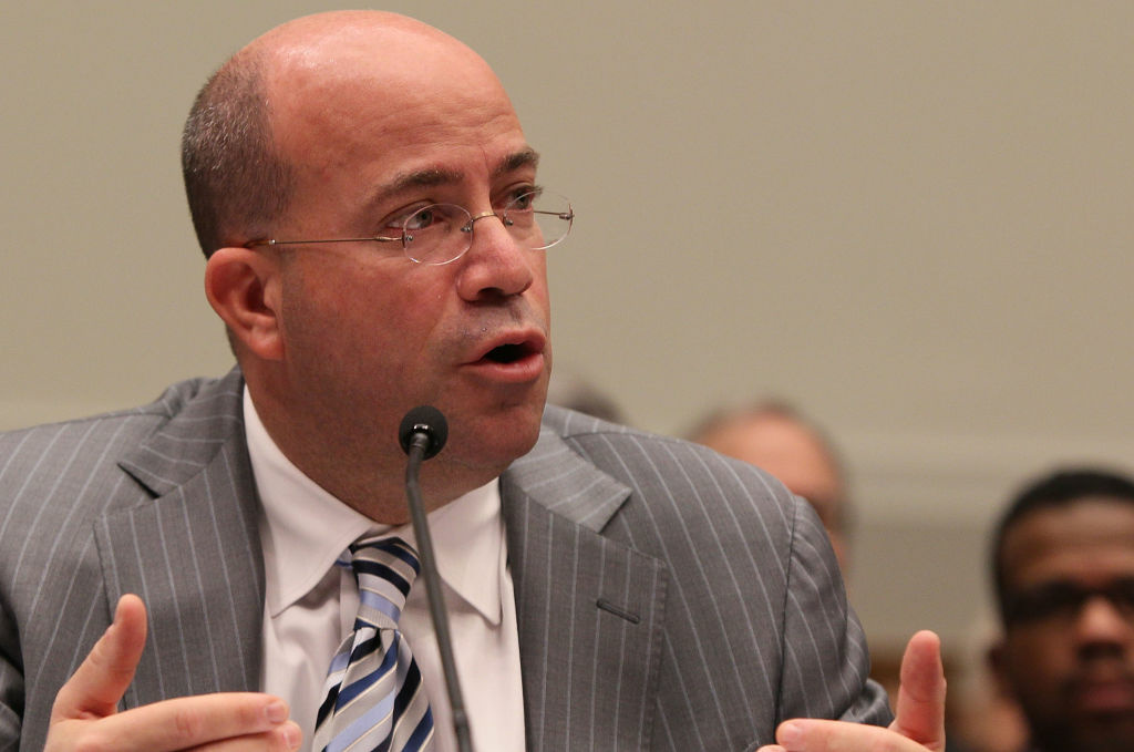 Jeff Zucker, president and CEO of NBC Universal, testifies during a House Judiciary Committee hearing on Capitol Hill February 25, 2010 in Washington, DC. The committee is hearing testimony on the proposed Comcast and NBC Universal merger.
