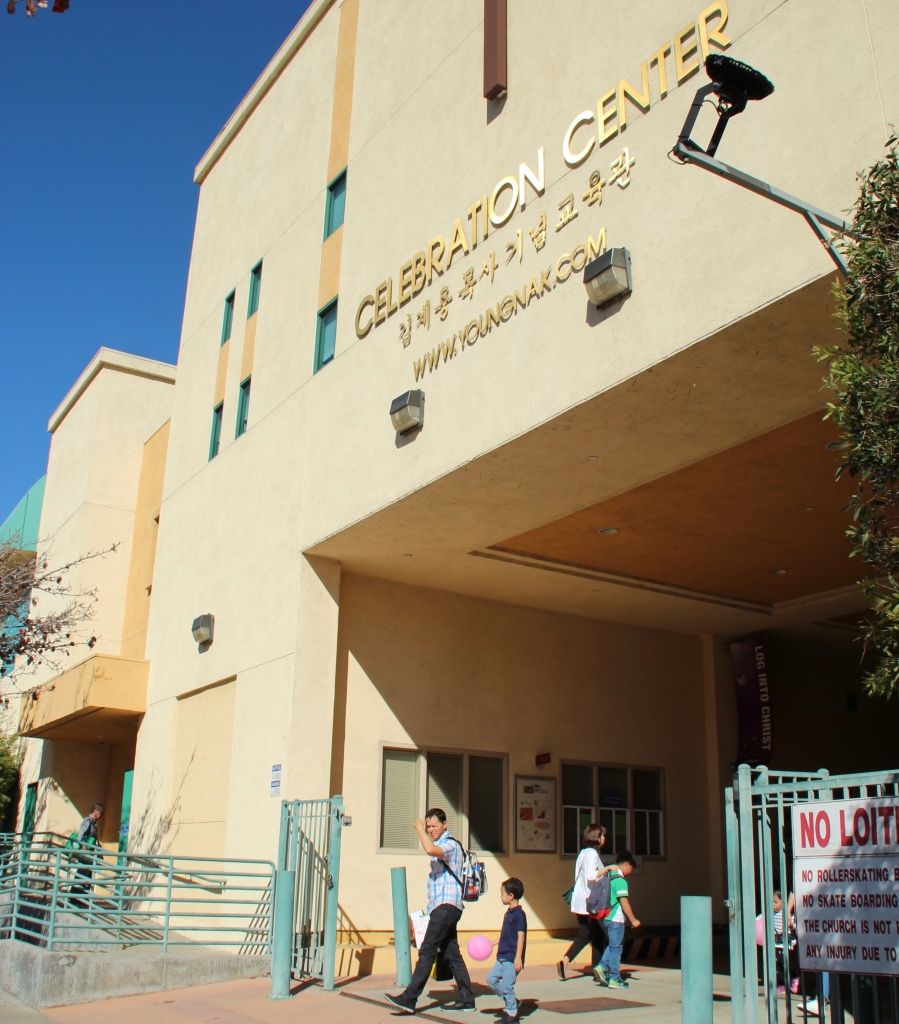 Young Nak Presbyterian Church is one of the largest and more prominent Korean-American churches in Los Angeles.