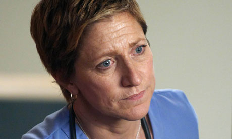 "Here's the news, ""Nurse Jackie"" isn't funny, it has funny moments, but it's a drama, take note TV Academy. [Photo courtesy Showtime]"