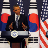 U.S. President Barack Obama Visits South Korea - Day 1