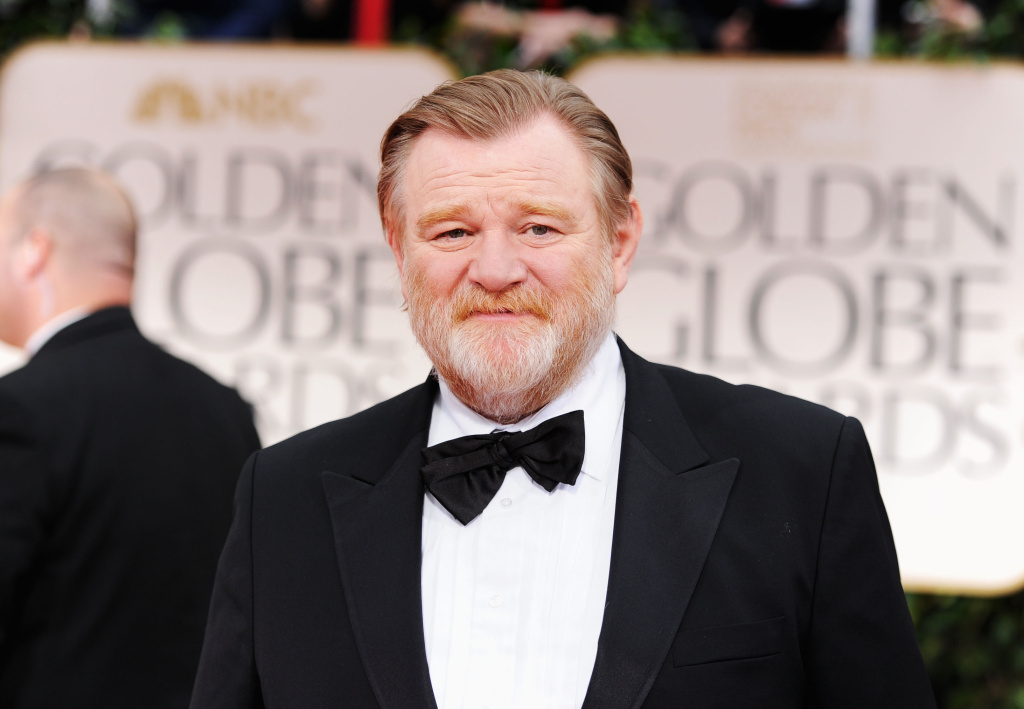 BEVERLY HILLS, CA - JANUARY 15:  Actor Brendan Gleeson arrives at the 69th Annual Golden Globe Awards held at the Beverly Hilton Hotel on January 15, 2012 in Beverly Hills, California.  (Photo by Frazer Harrison/Getty Images)