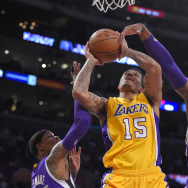 Kings Lakers Basketball