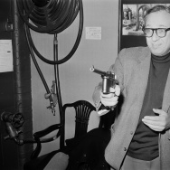 "American screenwriter and film producer Carl Foreman (1914 - 1984), writer of film ""High Noon."""