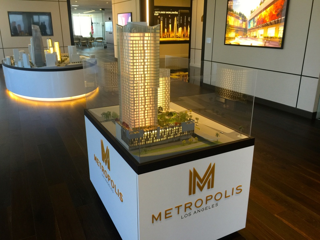 When Metropolis' three towers are finished sometime in 2018, more than 1500 condos will be added to Los Angeles' scarce housing market but some of the buyers probably will not be spending much time living there.