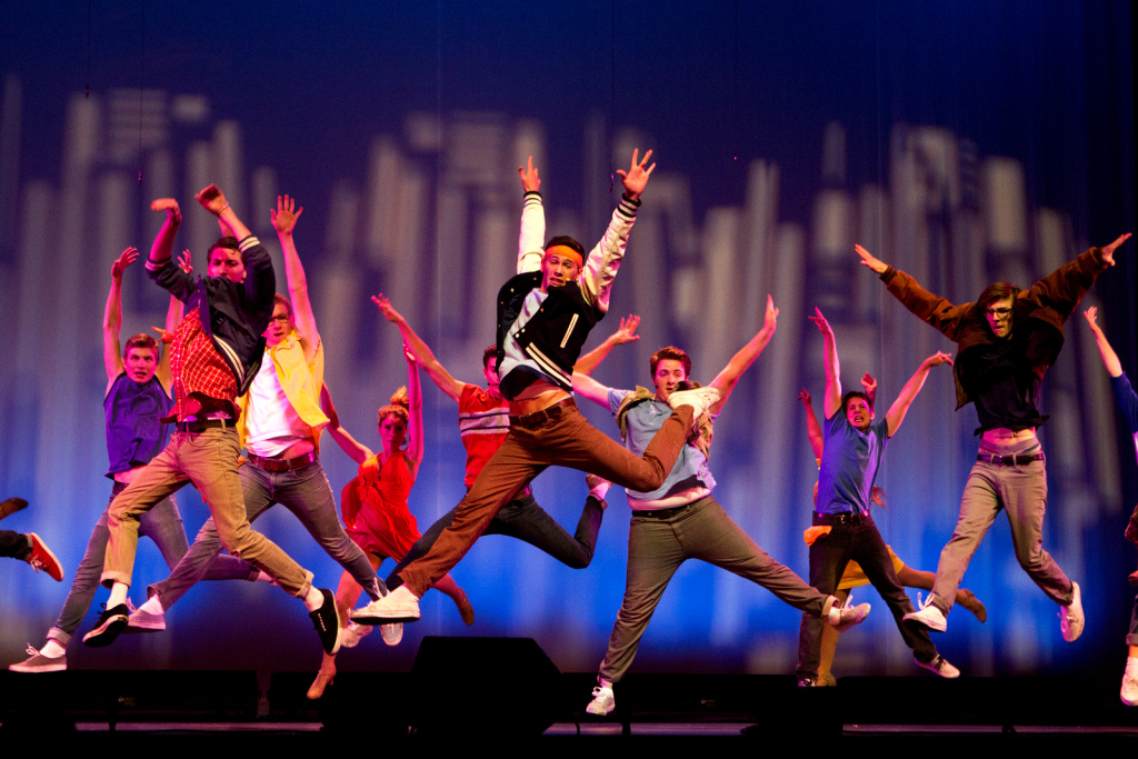 Calabasas High School musical theater students perform