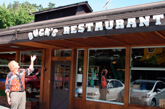 Jamis MacNiven bought Buck's Restaurant in 1991; it quickly became a hangout for venture capitalists from around Woodside, Calif.