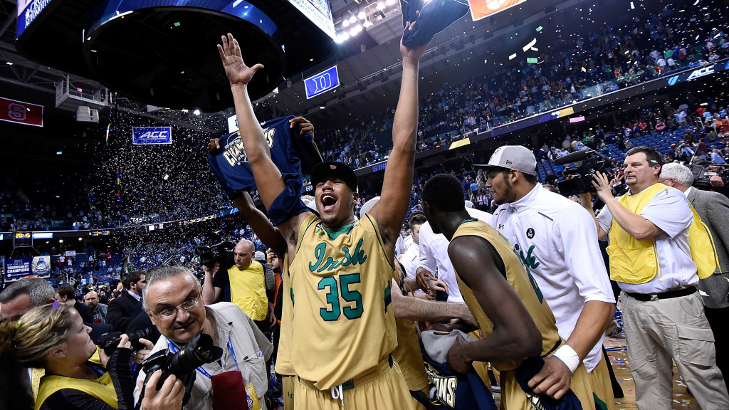 Greensboro Coliseum, seen here during last year's ACC tournament, won't be hosting early rounds of the NCAA basketball tournament — the games will be played in South Carolina, instead.