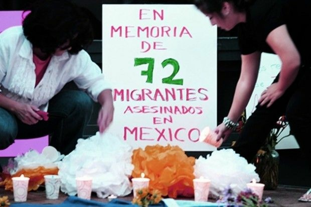 A screen shot from the website, 72migrantes.com. Photo by Lenin Nolly Araujo