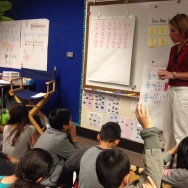 Downey Unified uses fourth grade teacher Tanya Bishop's classroom to demonstrate best practices in the new Common Core learning standards.