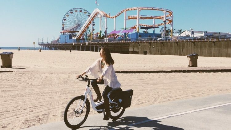 Elby is a Canadian e-bike maker that launched its new bicycle in Santa Monica by offering free test rides.