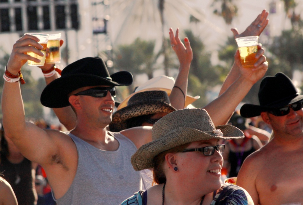 The beer flowed like water at last weekend's Stagecoach country music festival in Indio.