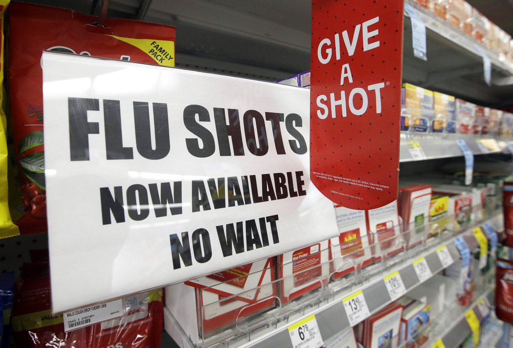 The start of flu season is still weeks or months away, but you can get a flu shot now at many pharmacies.