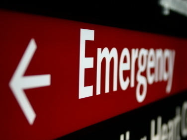 In case of an emergency, should you go to the strip mall or the hospital?