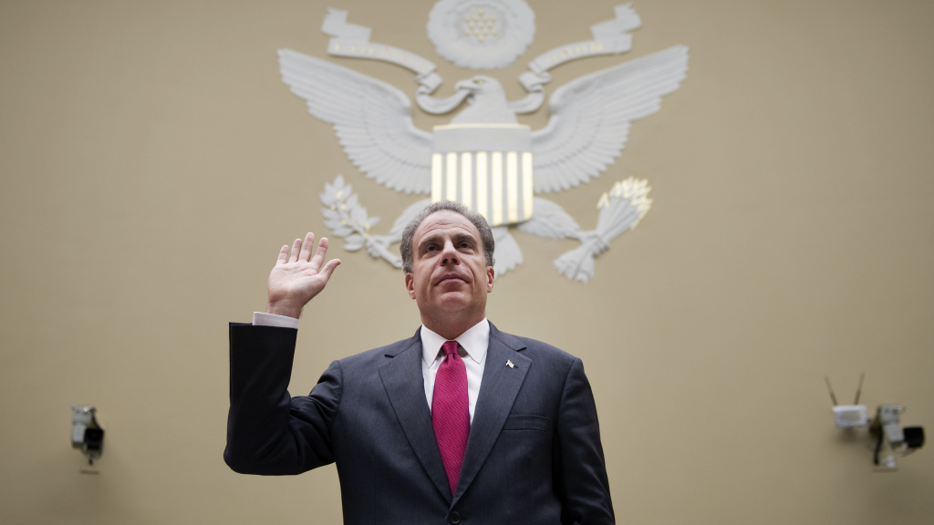 Justice Department Inspector General Michael Horowitz will testify Monday before the Senate Judiciary Committee.