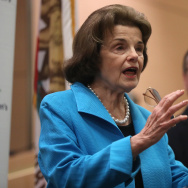 Dianne Feinstein Holds Press Conference On Impacts Of Medicaid Cuts On Kids