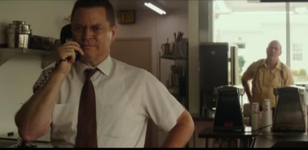 Nick Offerman plays Dick McDonald in the upcoming film