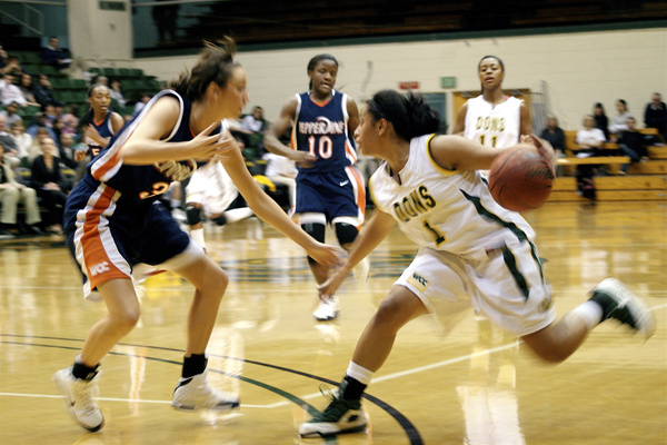 In this file photo from 2009, Pepperdine University plays the University of San Francisco. A ruling on Dec. 15, 2015 has allowed two former Pepperdine University women's basketball players to proceed with a discrimination lawsuit against the school.