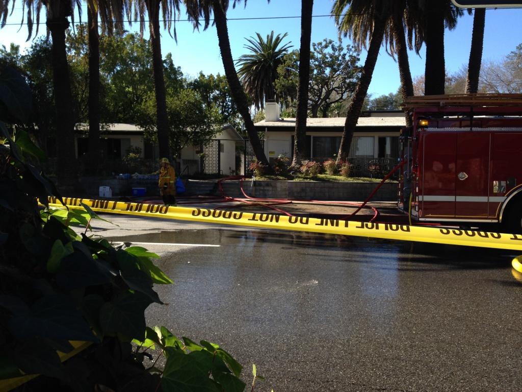 Pasadena apartment fire