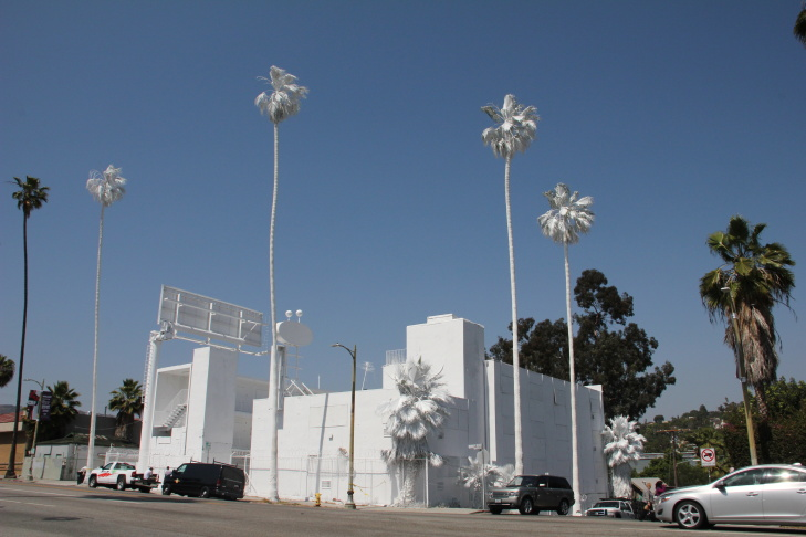 Vincent Lamouroux's 'Projection' at 4301 Sunset Blvd.