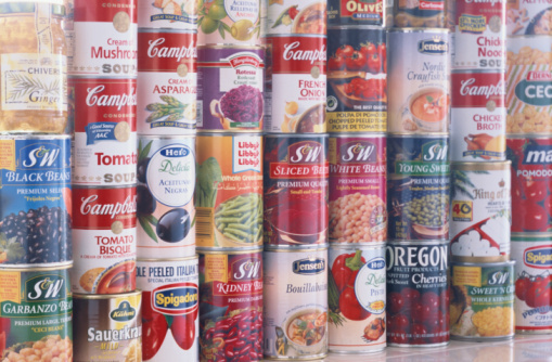 A Harvard study found that participants who consumed canned soup had BPA levels in their urine that were about 12 times higher than the people who didn't.