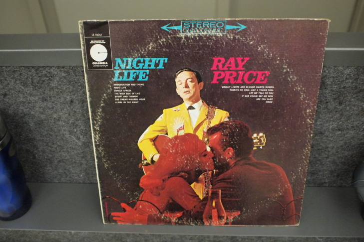 Ray Price Night Life album