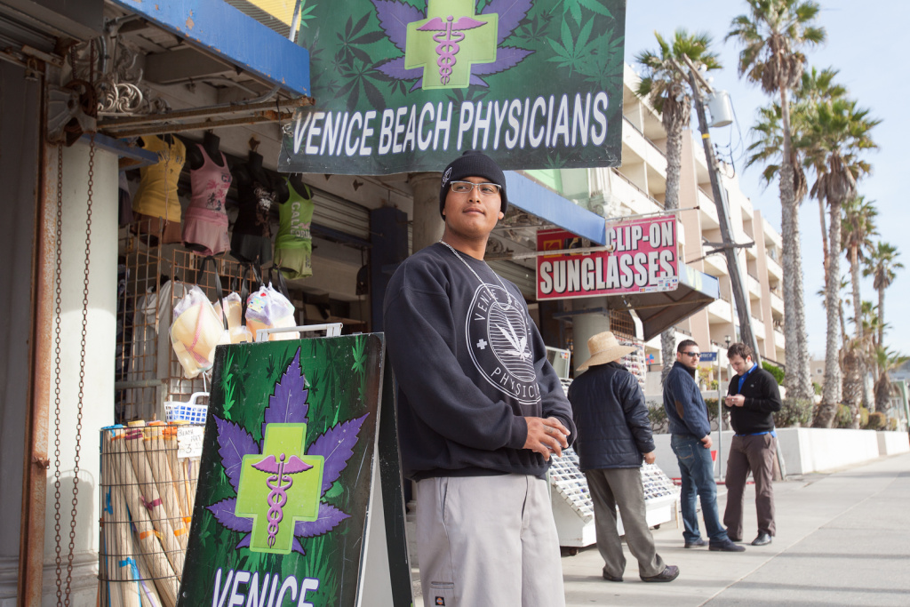 The California Supreme Court's decision regarding local regulation of marijuana dispensaries, expected this Spring, could affect shops such as Venice Beach Physicians.