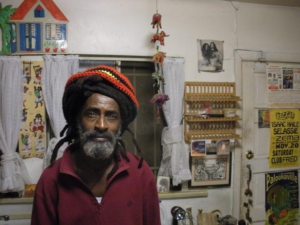 Isaac Haile Selassie at home