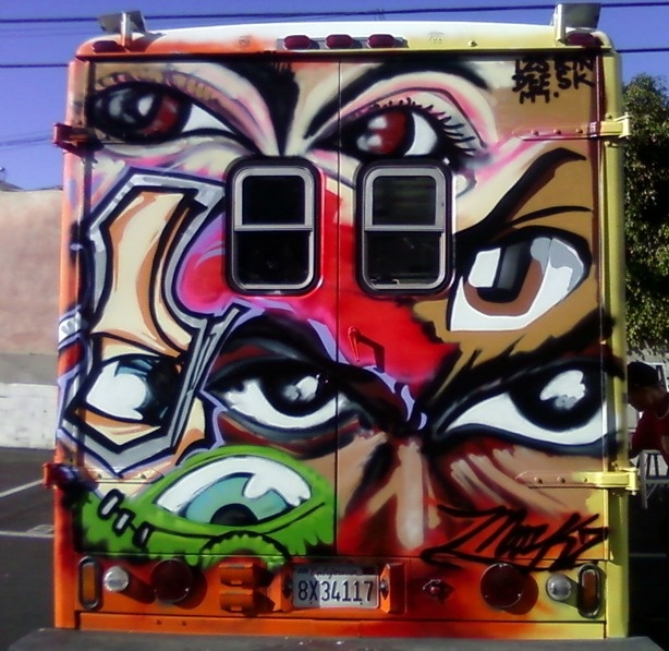 The Mobile Mural Lab has eyes in the back of its head