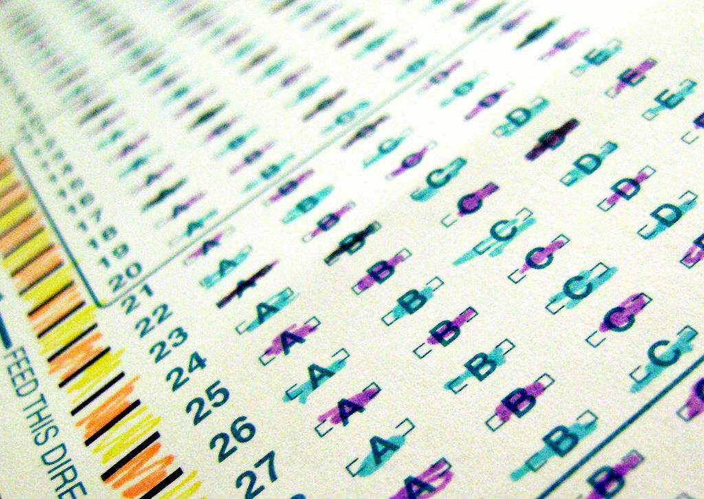 California prepares to move away from multiple-choice standardized tests.