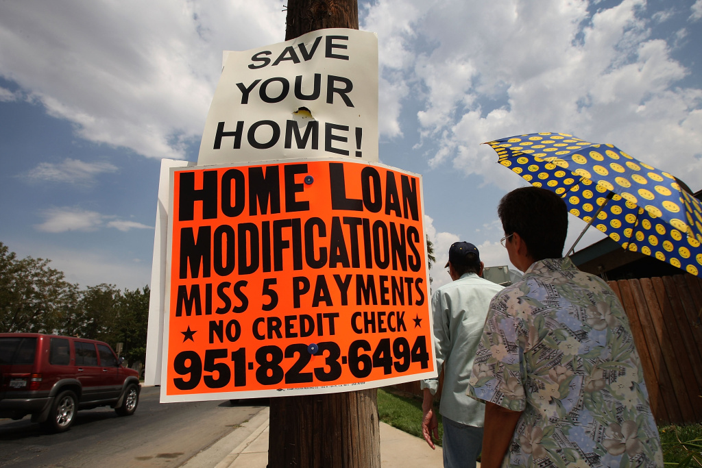 To address the housing bust, some cities in California are considering invoking eminent domain to restructure mortgages.