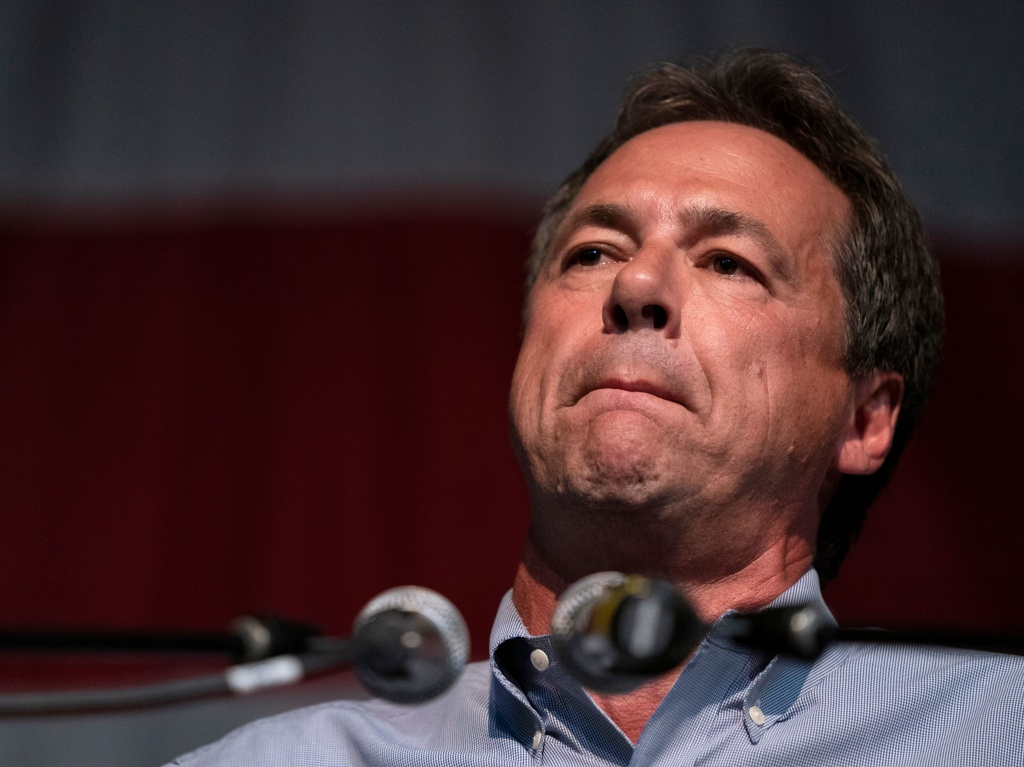 Montana Gov. Steve Bullock in Clear Lake, Iowa, last August.
