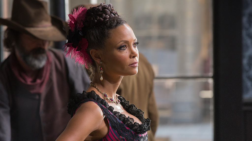 Thandie Newton plays Maeve Millay in HBO's new series