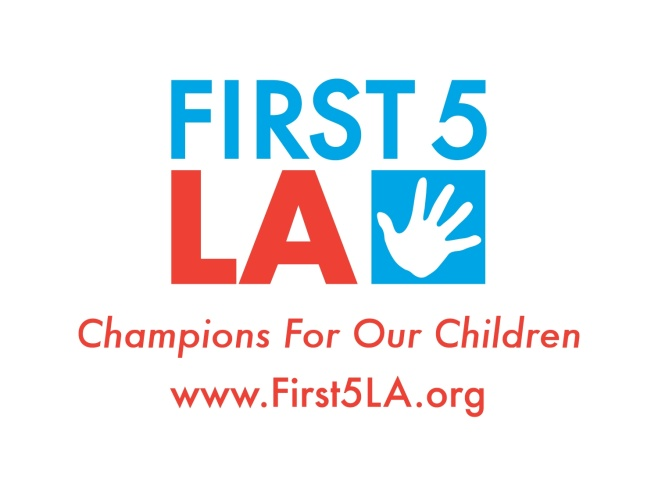 First 5 LA Logo with URL