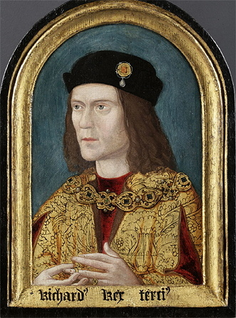 The earliest surviving portrait of Richard 3