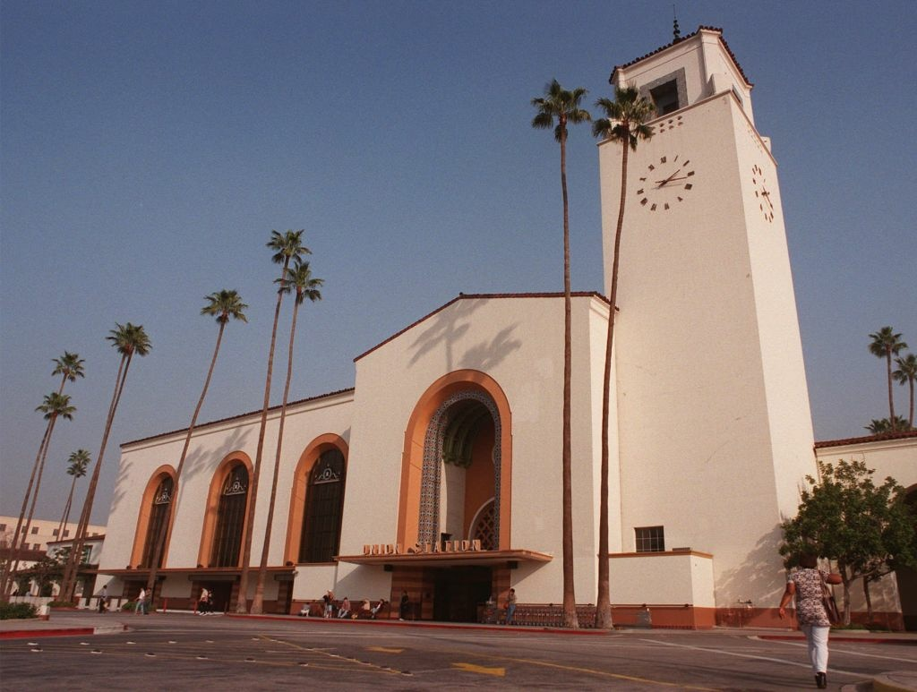 Union Station, shown Jan. 17, 1998, in Los Angeles, is the last grand urban train station built in America and the only one on the West Coast. It provides a historical backdrop to the sprawling, traffic-clogged city.