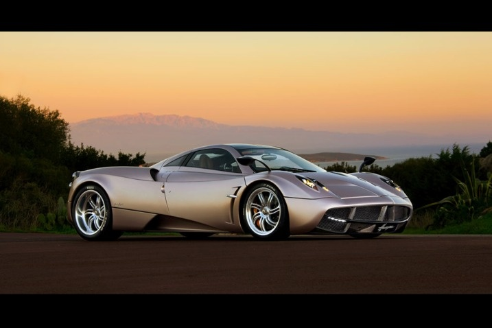 #1. 2009 SSC Ultimate Aero: 1,287 hp at 6,075 rpm