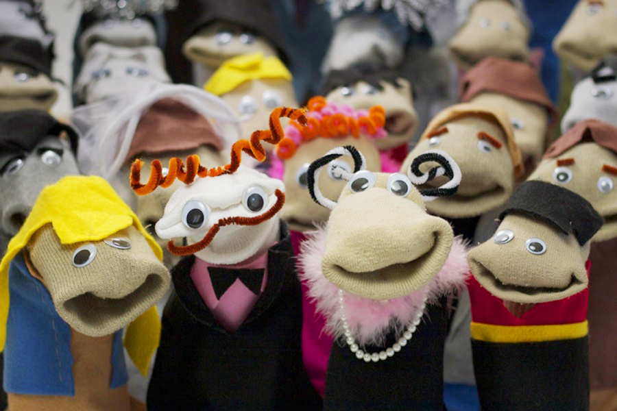 Sock Puppet Sitcom Theater