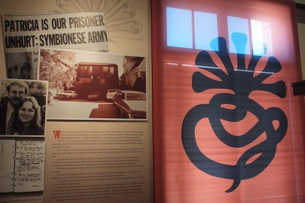 The SLA Exhibit at the LA Police Historical Society in Highland Park