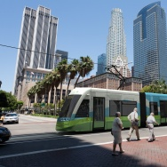 los angeles downtown streetcar