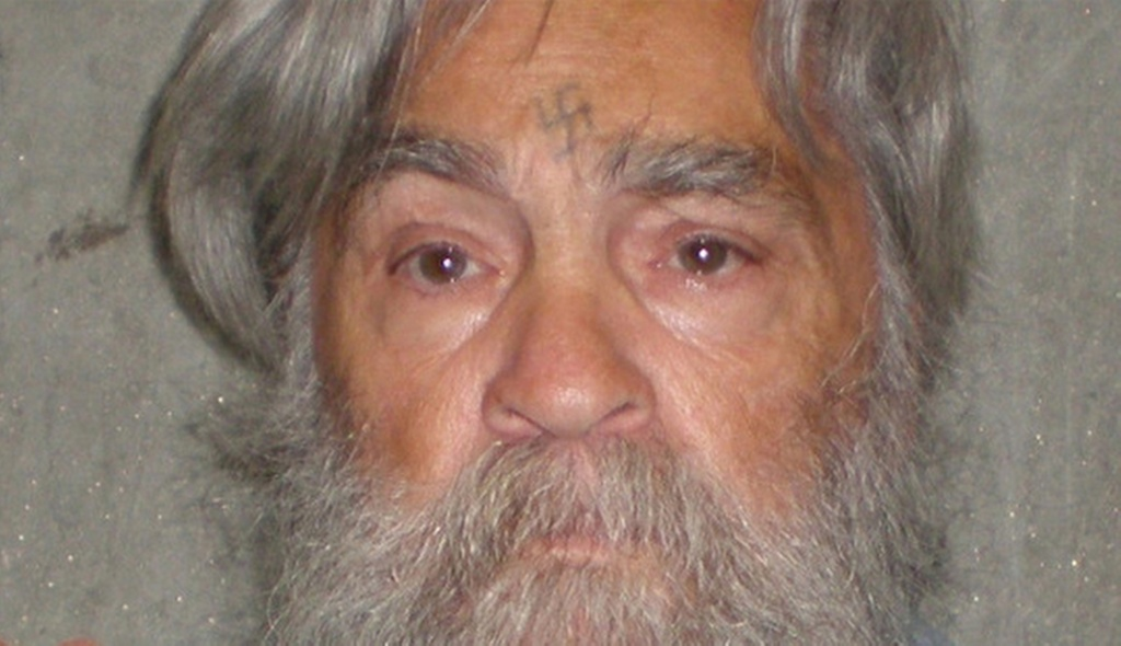 A photo provided by the  California Department of Corrections shows 77-year-old serial killer Charles Manson Wed., April 4, 2012. Manson will have an April 11, 2011 parole hearing in California.  (AP Photos/California Department of Corrections)