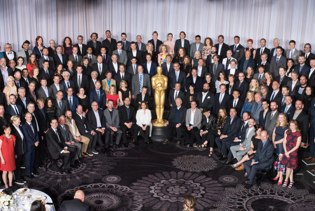 Nominees for the 88th Oscars at the nominees luncheon in February, 2016.